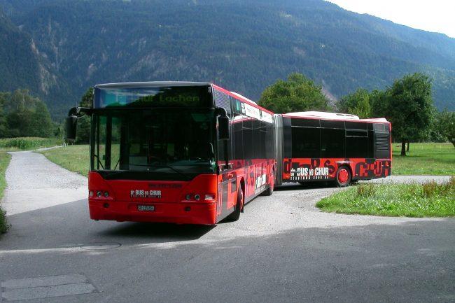 Chur Bus Gelenkbus 2001