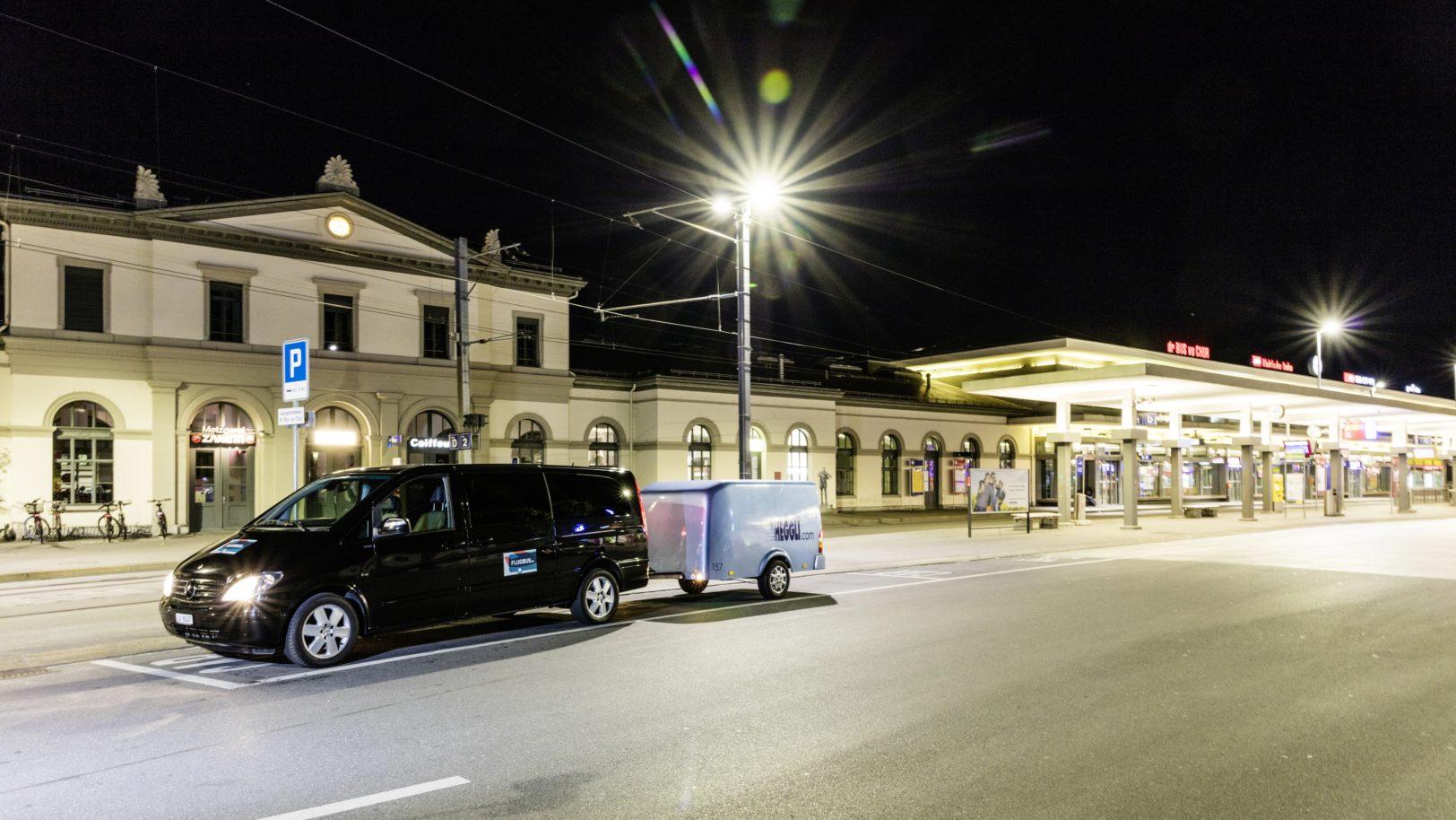 Flugbus Bahnhof Chur