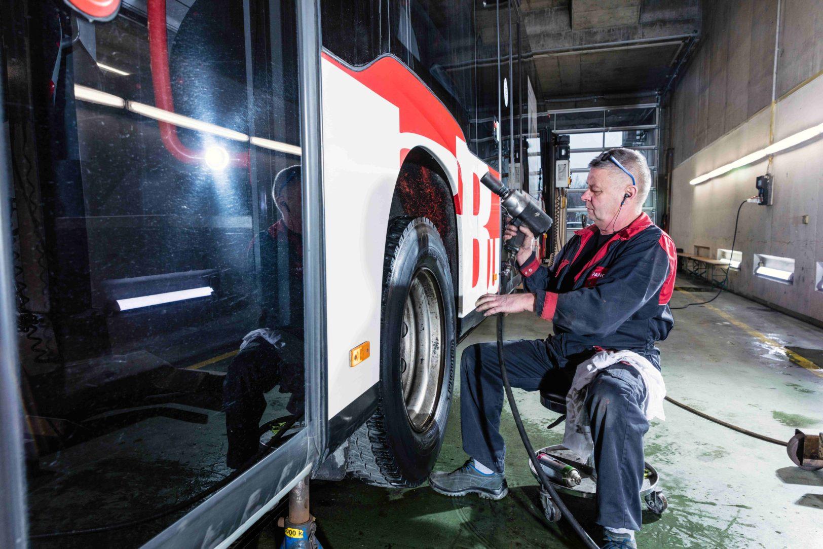 Werkstatt Chur Bus