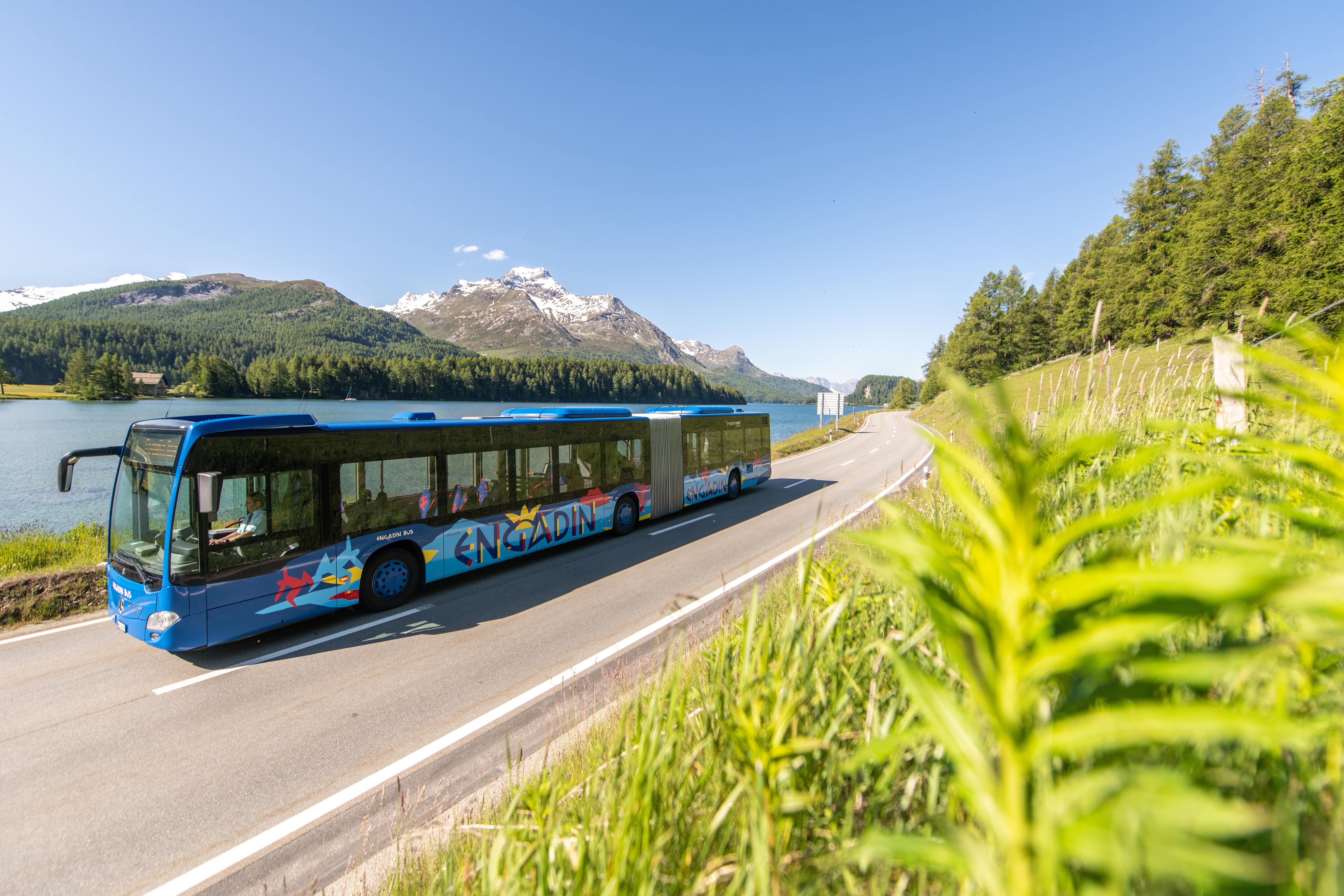 Engadin Bus Sommer 2020