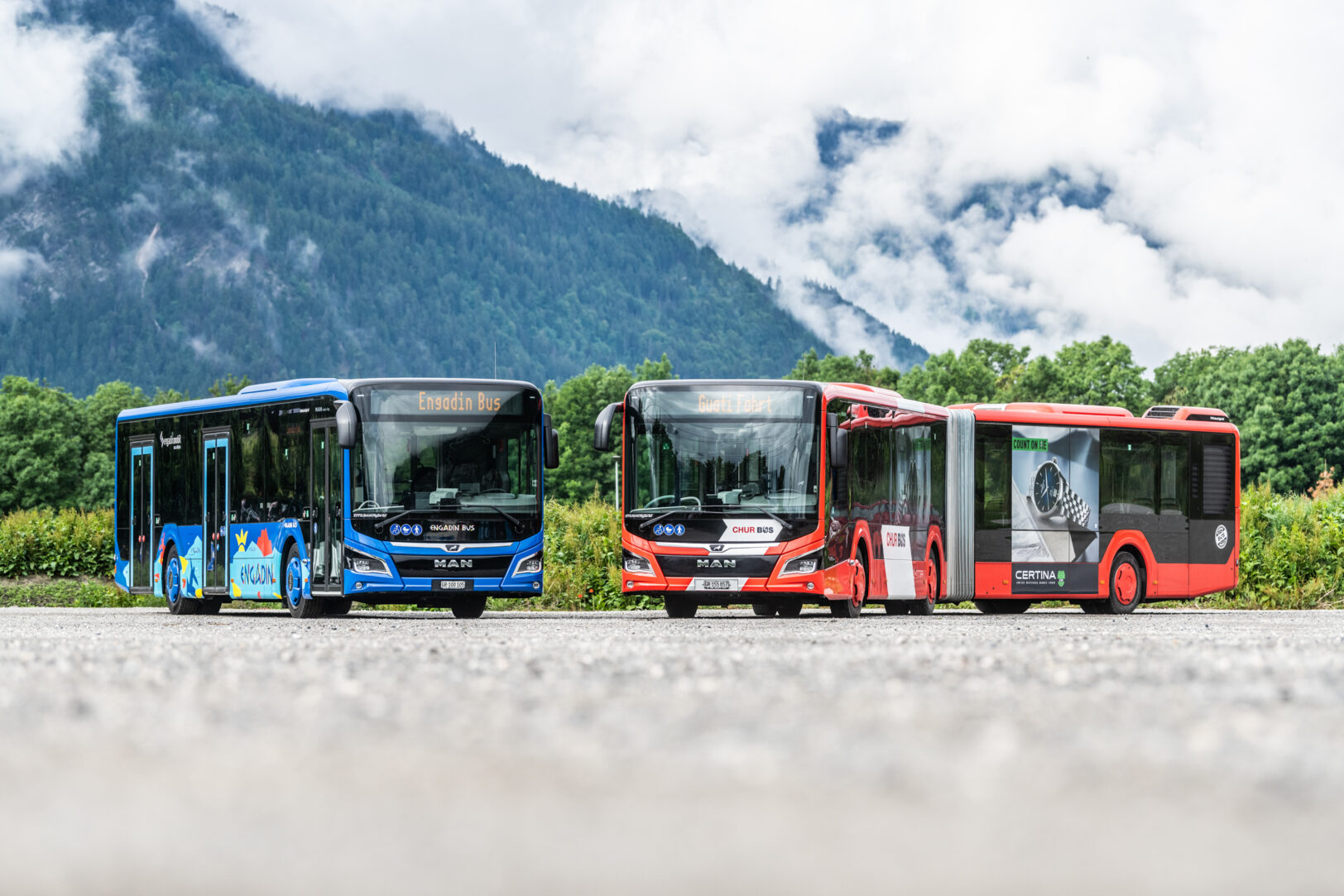 Engadin Bus und Chur Bus